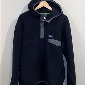 Patagonia Synchilla Snap T hooded pullover